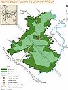 Bandhavgarh Tiger Reserve Map